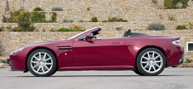 2011 Aston Martin V8 Vantage S side view