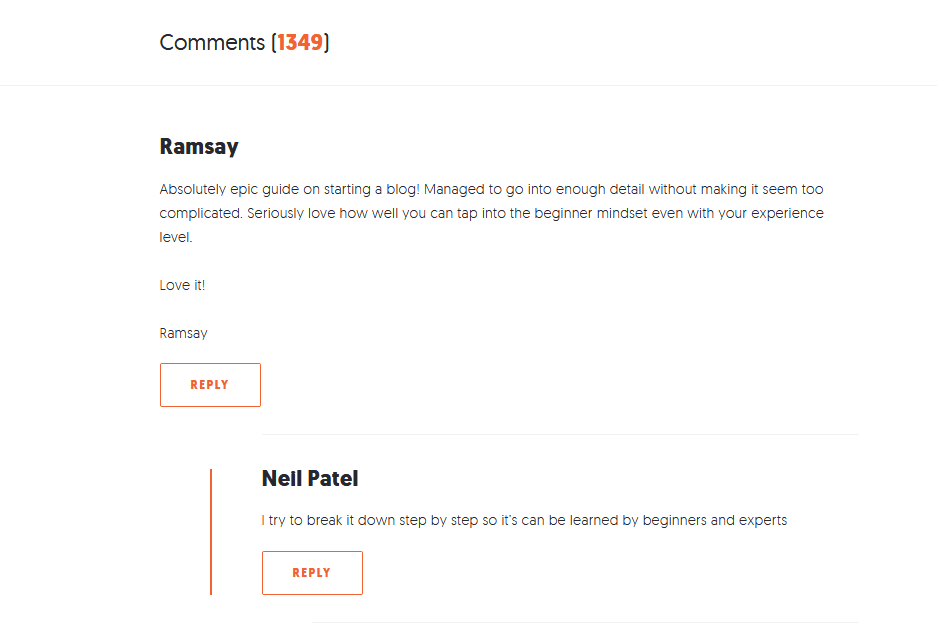 Threaded Comments