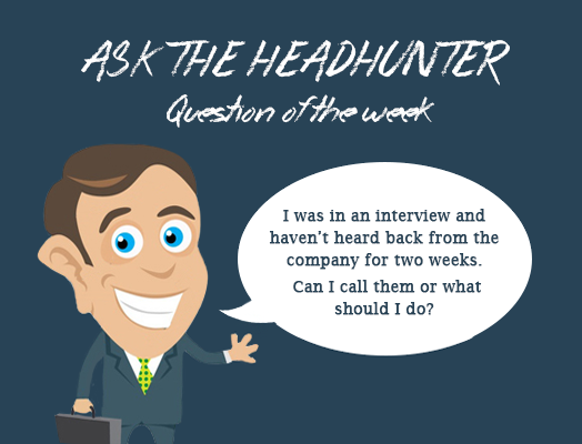 Ask the Headhunter #4