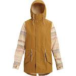 Burton Women's Sadie Jacket - Small - Wood Thrush / Creme Brulee Revel Stripe