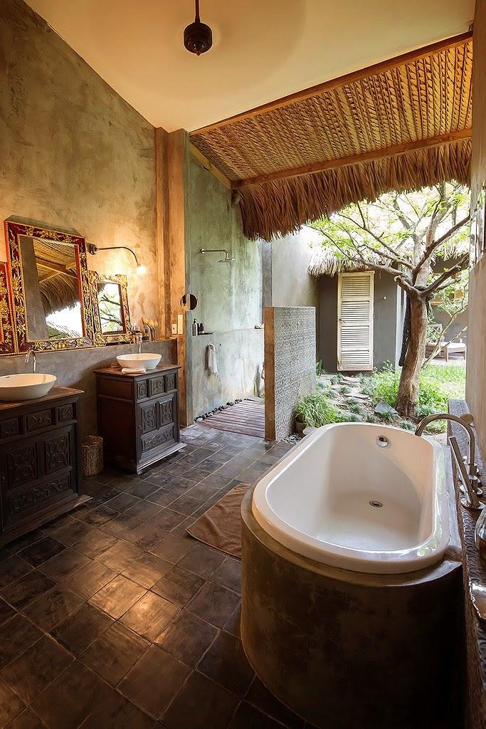 nhà tắm truyền thống