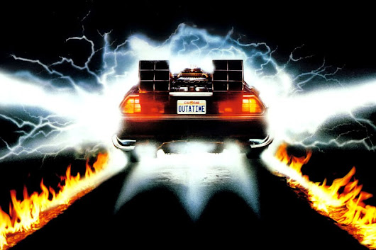 <em>Back to the Future</em>: Does physics of Marty's time travel add up?