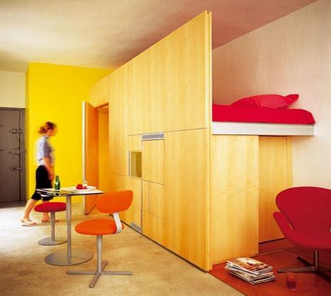 Interior Design  Small Bedroom on Loft Bedroom Interior Design Idea