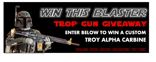 "Win a custom ""Fett"" Troy Alpha Carbine from Trop Gun Shop"