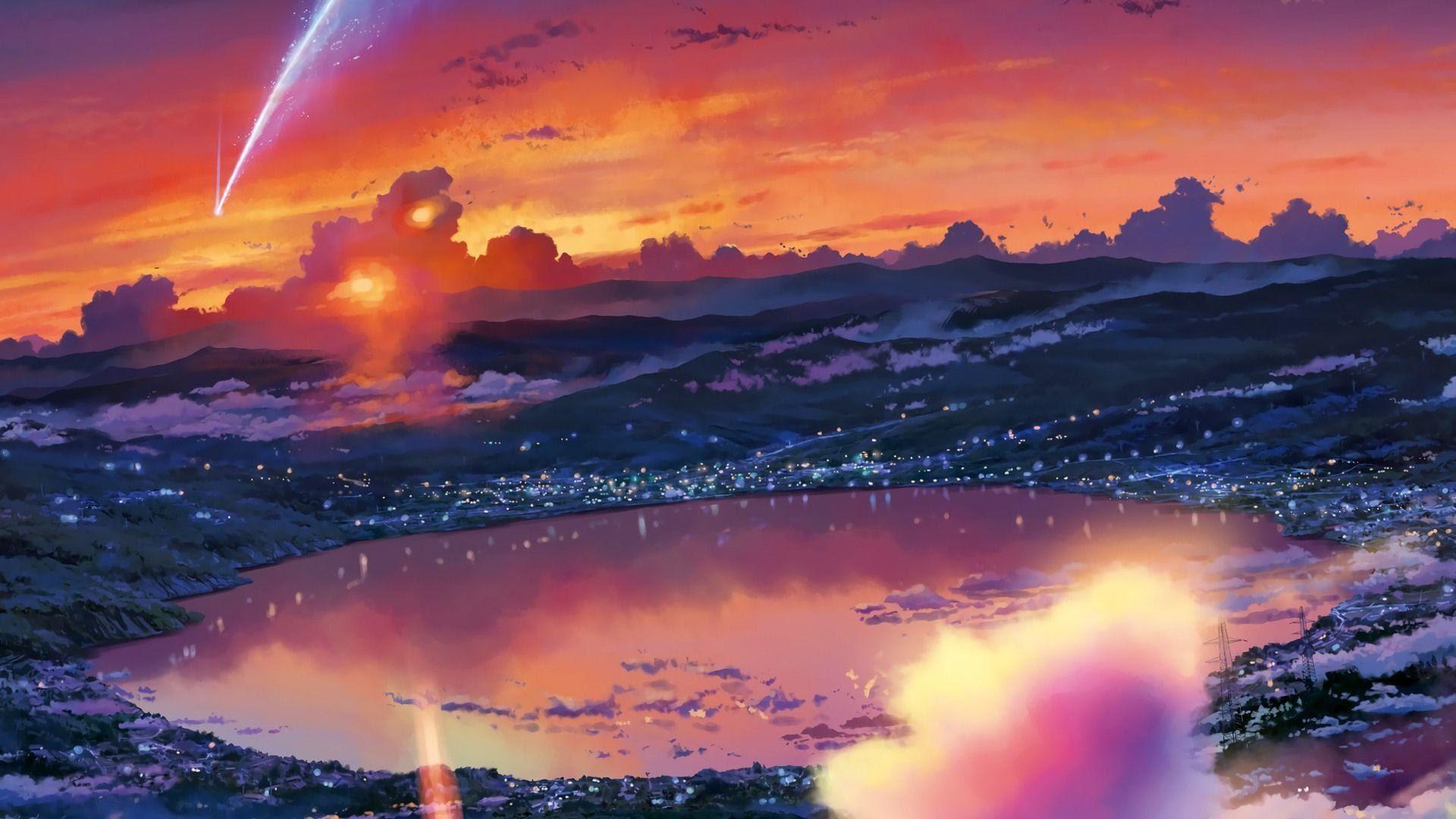 700 Koleksi Wallpaper Hp Anime Kimi No Nawa Gratis