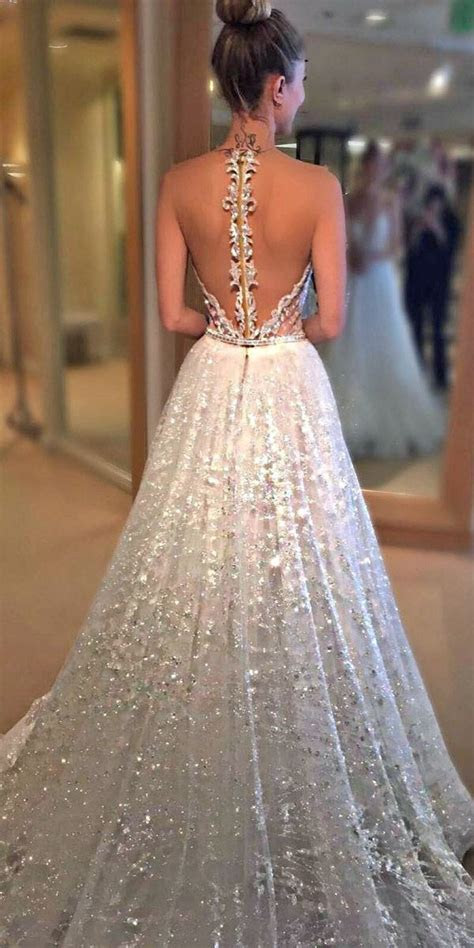 27 Stunning Trend: Tattoo Effect Wedding Dresses   Dream