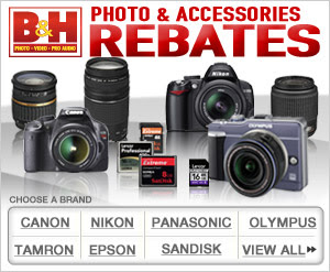 B&H Photo & Accessories Rebates