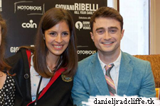 Updated: Daniel Radcliffe attends meet and greet session at Coin store, Venice
