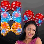Blinkee 5000020 Light Up Soft Bow Headband Assorted Color