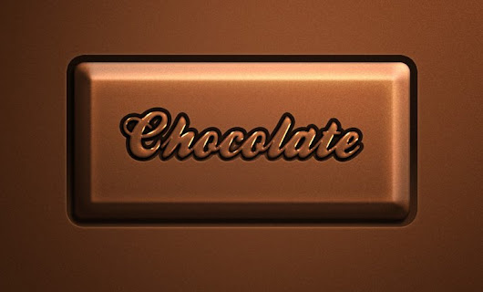 Psd Chocolate Text Effect - 365psd