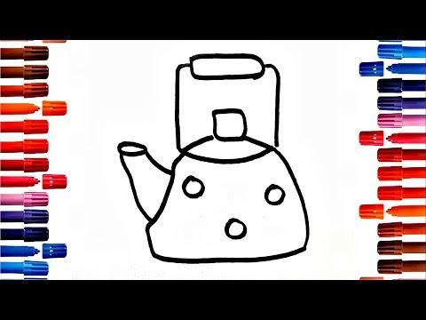Download Mp3 Teapot Pictures To Color 2018 Free