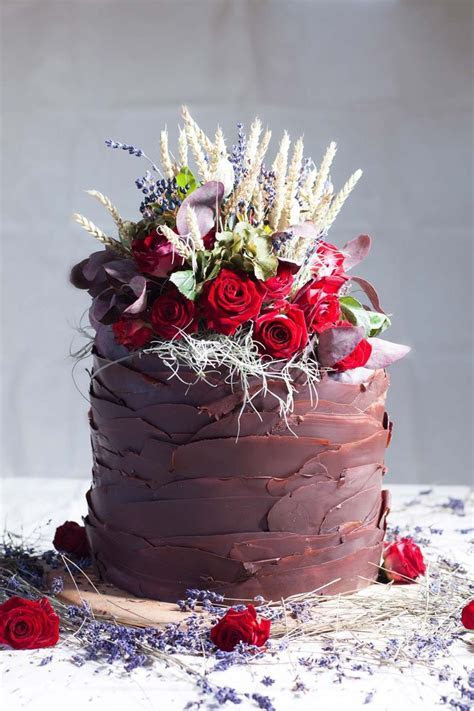 25  best ideas about Single Tier Cake on Pinterest   One