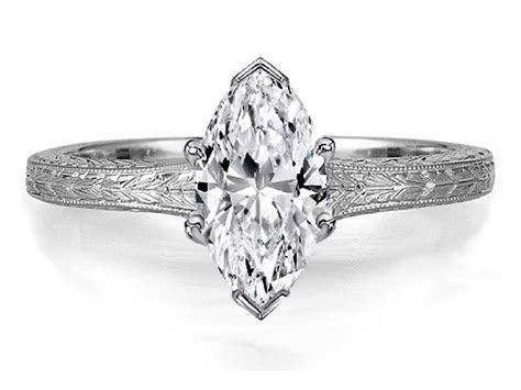 2019 Popular Marquise Diamond Engagement Rings Settings