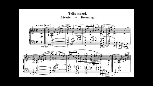 Schumann: Kinderszenen Op.15 No.7, Träumerei (Horowitz) - YouTube
