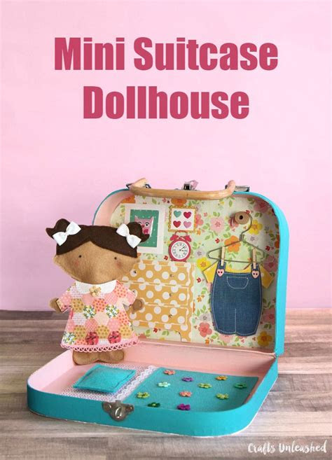 dollhouse tutorial diy mini suitcase project consumer