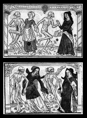 Une chambrière et une entremetteuse AND Une régente et une femme de chevalier.