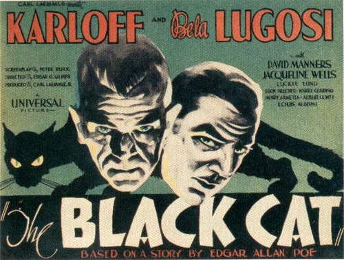 The Black Cat 22x28 insert poster (1934) (by filmwolf)