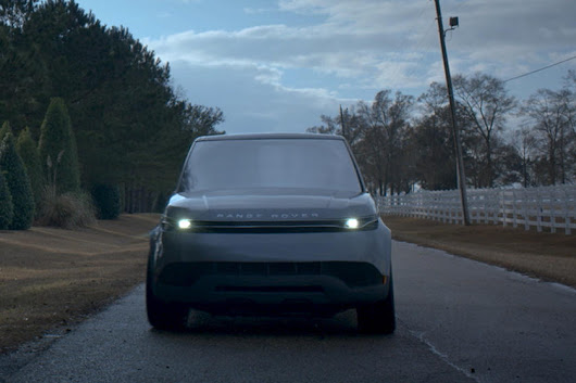 "Land Rover Creates Futuristic Range Rover Sport For Hulu Science-Fiction Series ""The First"" - CarBuzz"