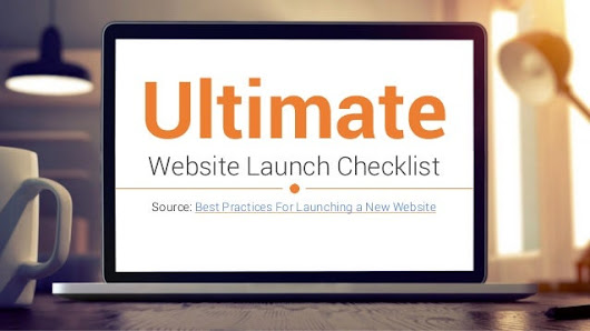 Ultimate Website Launch Checklist 2015