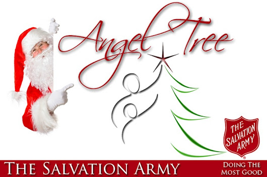 Can You Help Us Play Santa? – Salvation Army Annual Angel Tree Toy Drive