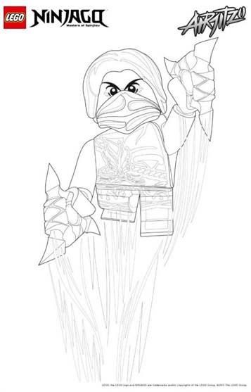 ausmalbild ninjago feuerschlange  ausmalbild kostenlos