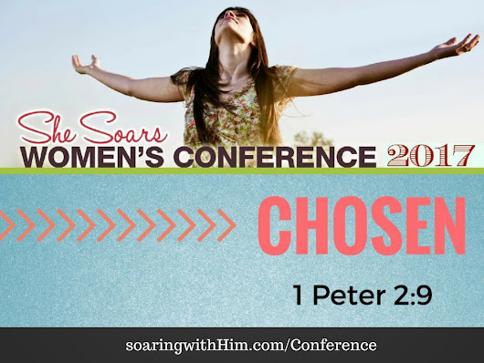 CHOSEN! Save the Date VIDEO – SHE SOARS 2017