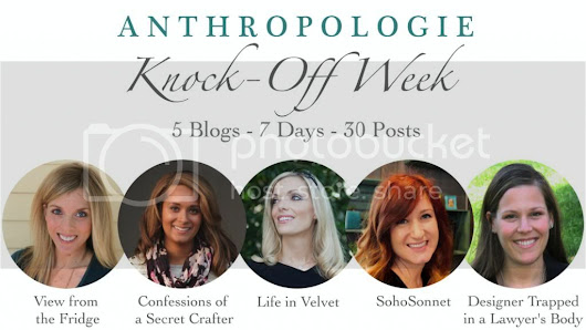 Link Party + Recap : Anthro Knock-off Week Day 7