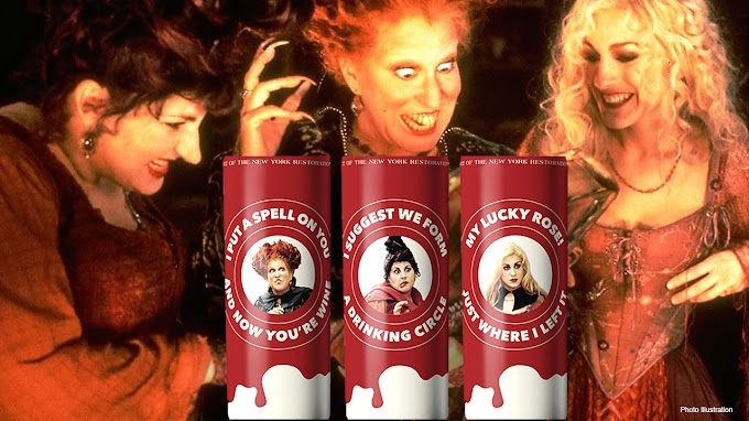 TREND ESSENCE: 'Hocus Pocus'-themed wines arriving in time for Halloween