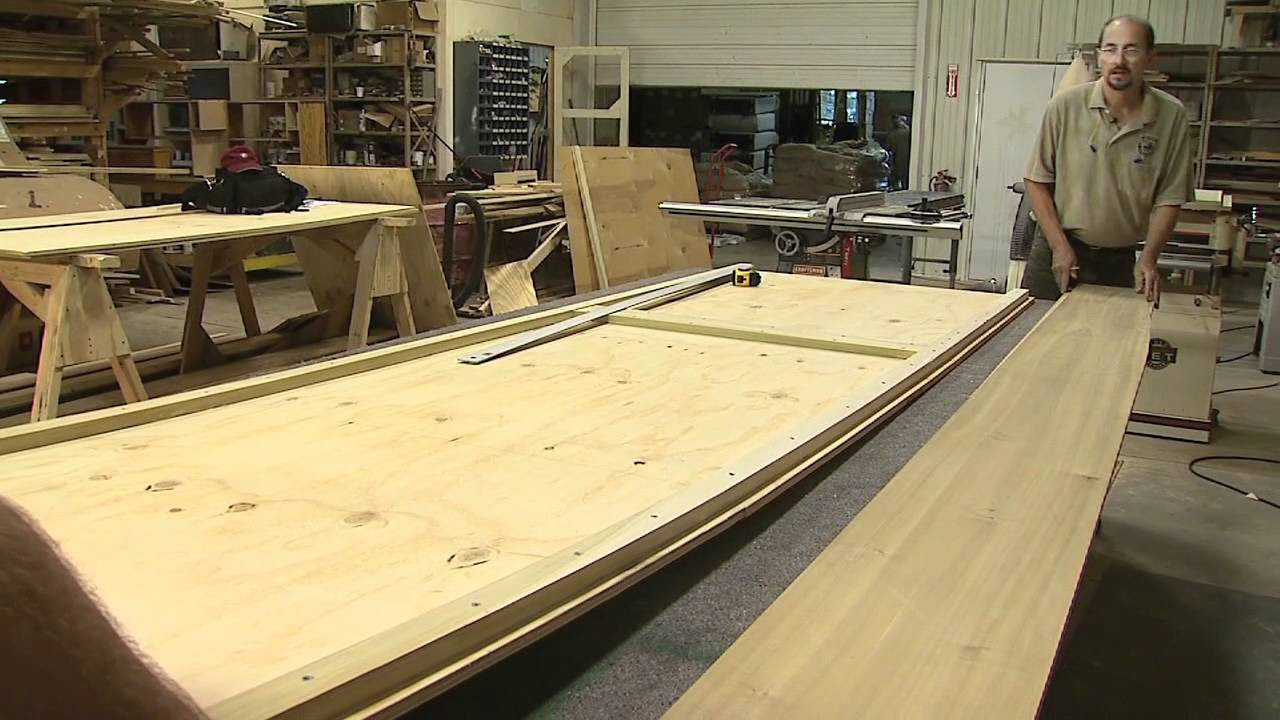How to Build a Flat Bottomed Boat - YouTube