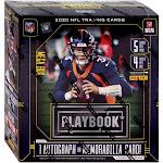 NFL Panini 2020 Playbook Football Trading Card MEGA Box [4 Packs, 1 Autograph OR Memorabilia Card]