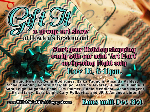 Gift it! Nov 16th @ 8pm!