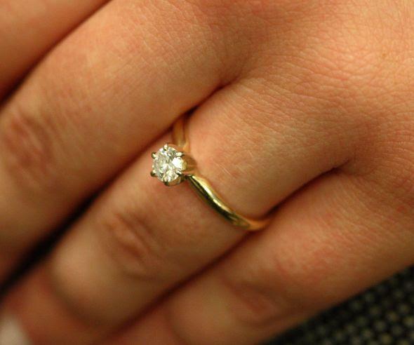 Size 8 wedding rings