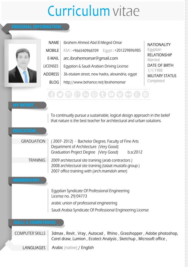 ambitious and combative architect cv