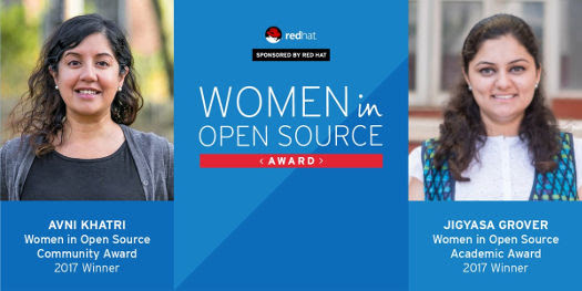 Red Hat's Women in Open Source Award Winners, 2017 | FOSS Force