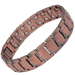 Men's Powerful Magnetic Therapy Bracelet Pure Copper Chain