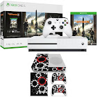 Microsoft Xbox One S 1 TB Console Bundle w/ Tom Clancy's The Division 2 + Vinyl Decals