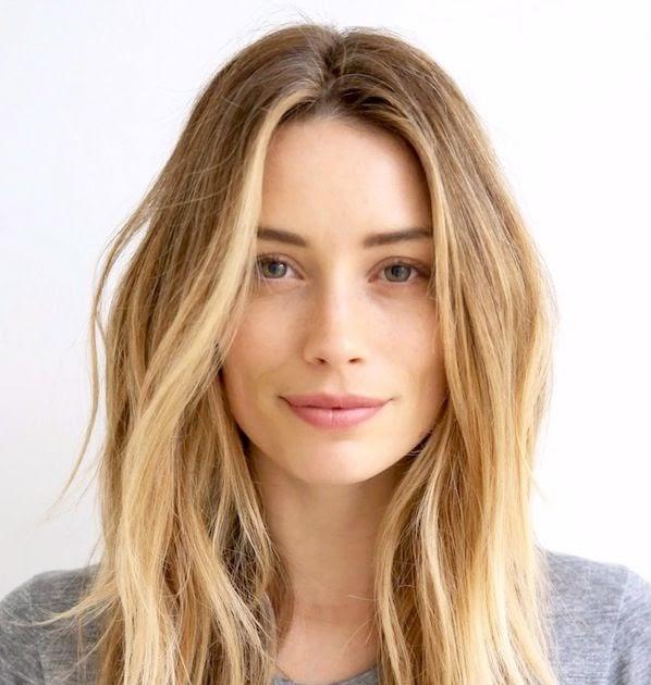 Le Fashion Hair Inspiration Arielle Vandenberg S Beachy Textured Waves