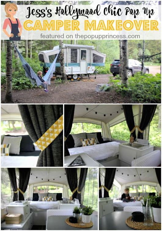 Jess's Pop Up Camper Makeover - The Pop Up Princess