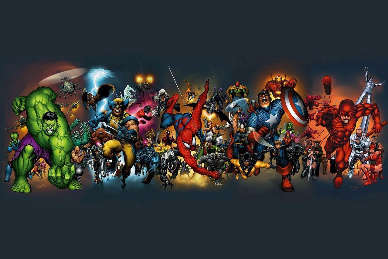 Marvel Super Heroes Wallpapers  Wallpaper Cave