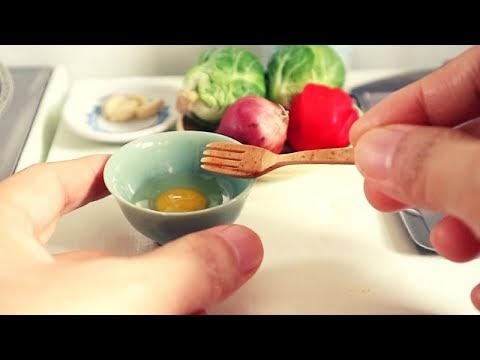 Amazing Miniature Kitchens #1 - Nhà bếp nhỏ tuyệt vời sẽ làm kinh ngạc đ...