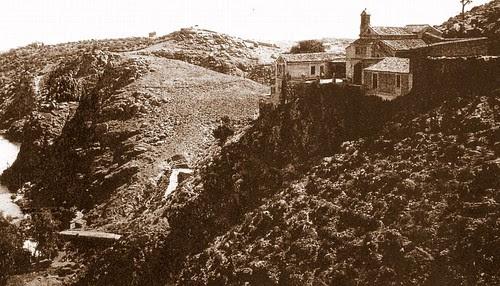 Ermita del Valle a principios del siglo XX (Toledo, España)