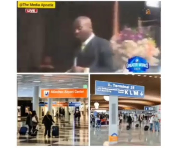 My Spiritual Son Disappeared In German Airport and Appear in France Without Passport - Apostle Johnson Suleman Reveals