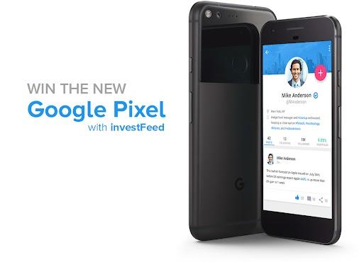 investFeed Google Pixel giveaway