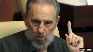 Fidel Castro at the National Assembly - 7 August 2010