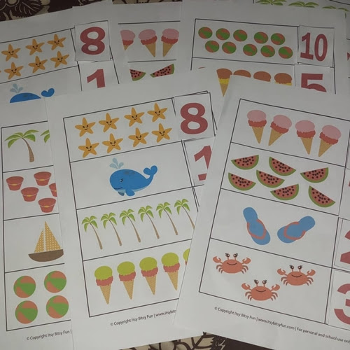 Summer Counting Games