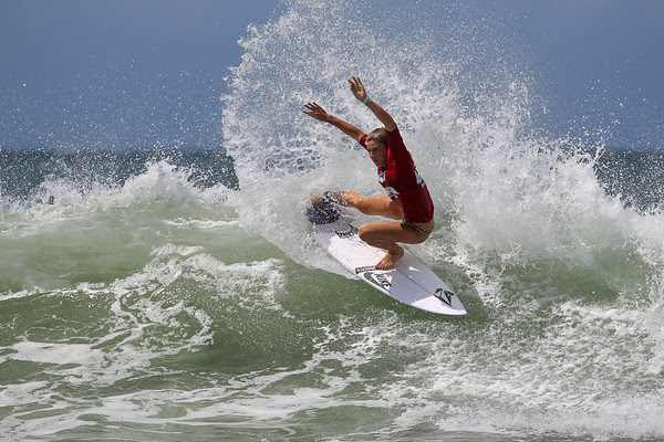 Coco Ho - Women's Surfing - Breaka Burleigh Pro Surfing - Association of Surfing Professionals (ASP) 6-Star Women's and 4-Star Men's rated event - Burleigh Heads, Gold Coast, Queensland, Australia; 04 February 2013. Photos by Des Thureson - http://disci.smugmug.com.