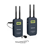 Saramonic VmicLink5 5.8GHz Hifi Wireless Lavalier Microphone System for Video