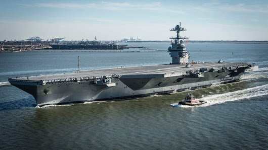 What It Would Really Take To Sink A Modern Aircraft Carrier