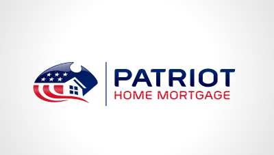 Patriot Home Mortgage : Home mortgage logo design