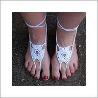 blote voeten sandaaltjes haakpatronen